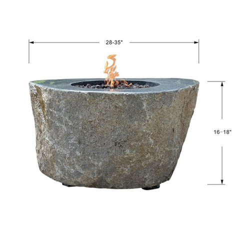 Image of Elementi Brighton Fire Table - OFS015 Fire Pit Elementi