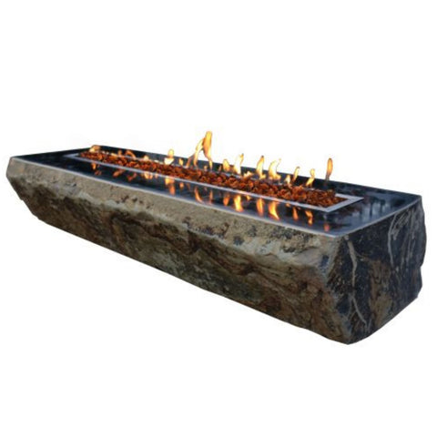 Image of Elementi Fairfield Basalt Table - OFS303 Fire Pit Elementi