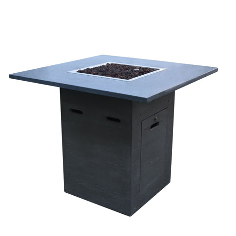Image of Elementi & Modeno Fire Pit Alps Bar Table - OFG222 Fire Pit Elementi