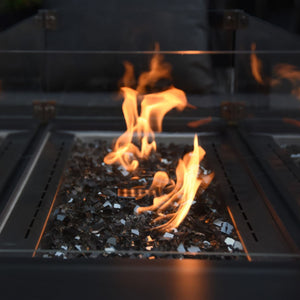 Elementi Varna Porcelain Fire Table - OFP121BB Fire Pit Elementi