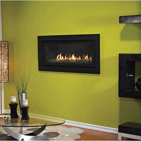 "Empire Boulevard 41"" Direct Vent Contemporary Linear Gas Fireplace - DVLL41 Fireplaces Empire Comfort Systems"