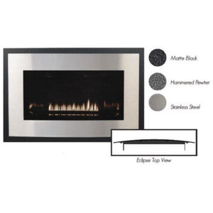 Empire Loft Small Direct Vent Gas Fireplace - DVL25FP Fireplaces Empire Comfort Systems