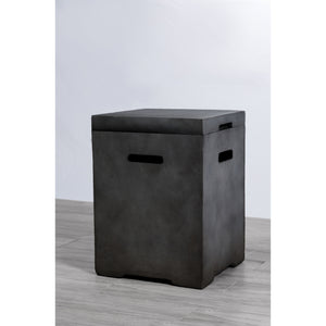 Living Source Cast Concrete Propane Tank Cover CM-1019 - In Stock Tank Cover Living Source International