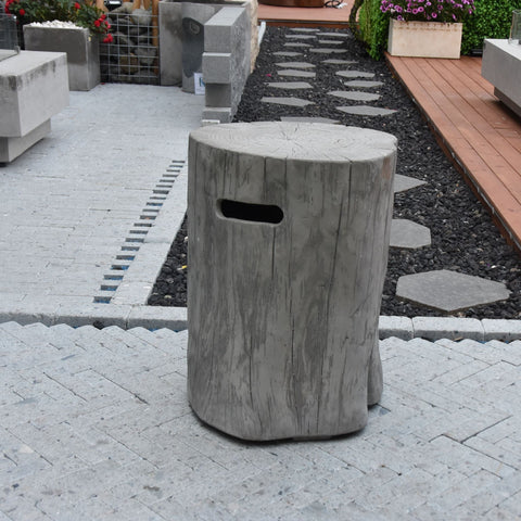 Image of Manchester Cast Concrete Tank Cover in Gray ONB01-118CG Accessories Elementi