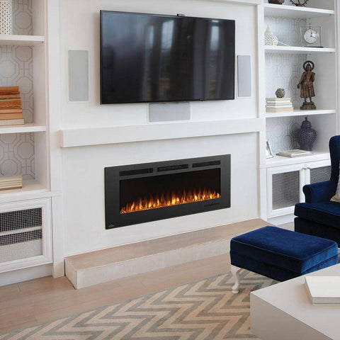 "Napoleon Allure Phantom 50"" Linear Wall Mount Electric Fireplace - NEFL50FH-MT Fireplaces Napoleon"