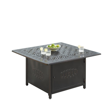 "Oakland Living Ronin 42"" Square Propane Fire Pit Table - RONIN-FPT-AC Fire Pit Table Oakland Living"