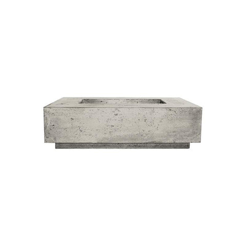 Image of Prism Hardscapes Tavola 1 Concrete Gas Fire Pit PH-405, 56x38-Inch Gas Fire Pit Prism Hardscapes Natural Gas Natural