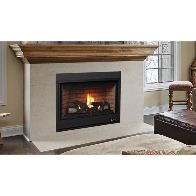 Superior DRT2000 Traditional Front Open Direct-Vent Electric Fireplaces Fireplaces Superior