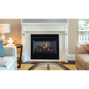 "Superior DRT2035 Gas Fireplace Aries 35"" Contemporary Electronic Ignition Fireplaces Superior"
