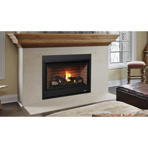 "Image of Superior DRT2035 Gas Fireplace Aries 35"" Contemporary Electronic Ignition Fireplaces Superior"