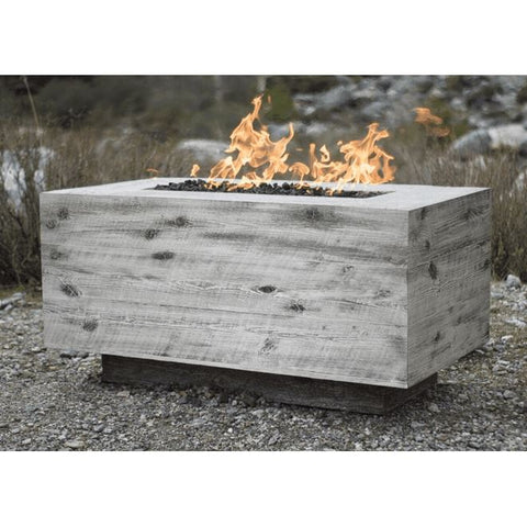 Image of The Outdoor Plus Catalina Wood Grain Fire Pit OPT-CTL60 Fire Pit The Outdoor Plus