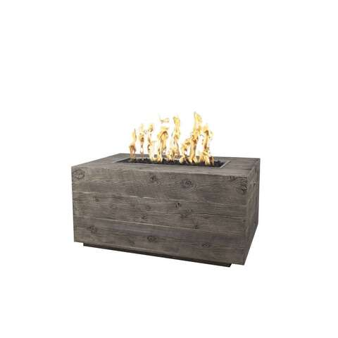 Image of The Outdoor Plus Catalina Wood Grain Fire Pit OPT-CTL96 Fire Pit The Outdoor Plus