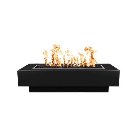 Image of The Outdoor Plus Coronado Metal Fire Pit OPT-XX96 Fire Pit The Outdoor Plus Black Powder Coat Electronic Ignition Natural Gas