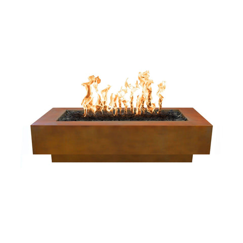 Image of The Outdoor Plus Coronado Metal Fire Pit OPT-XX96 Fire Pit The Outdoor Plus Corten Steel Electronic Ignition Natural Gas
