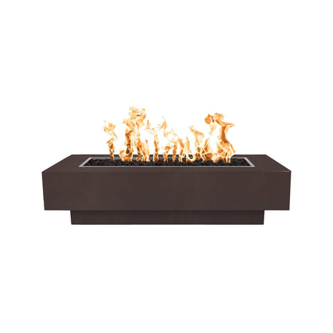 Image of The Outdoor Plus Coronado Metal Fire Pit OPT-XX96 Fire Pit The Outdoor Plus Copper Vein Powder Coat Electronic Ignition Natural Gas