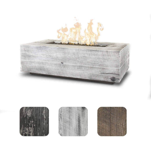 Image of The Outdoor Plus Coronado Wood Grain Fire Pit OPT-COR108 Fire Pit The Outdoor Plus