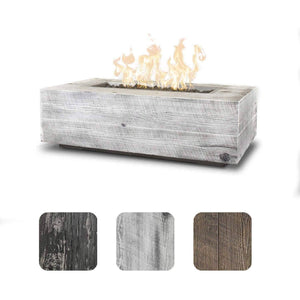 The Outdoor Plus Coronado Wood Grain Fire Pit OPT-COR108 Fire Pit The Outdoor Plus