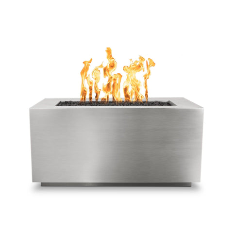 Image of The Outdoor Plus Pismo Metal Fire Pit OPT-R4824PCR Fire Pit The Outdoor Plus Stainless Steel Electronic Ignition Natural Gas