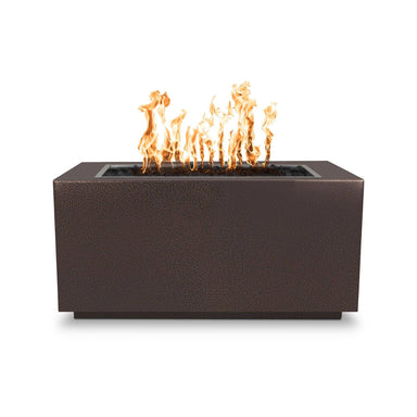 The Outdoor Plus Pismo Metal Fire Pit OPT-R8424 Fire Pit The Outdoor Plus Copper Vein Powdercoat Electronic Ignition Natural Gas