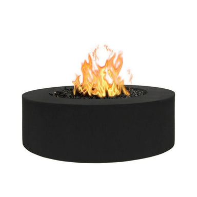 The Outdoor Plus Unity Metal Fire Pit OPT-UNY-60 Fire Pit The Outdoor Plus Match Light Natural Gas Black Powdercoat