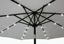 Afbeelding in Gallery-weergave laden, 2-in-1 Led-tuinparasol