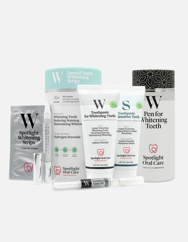 Whitening Essentials Bundle with Free Pen