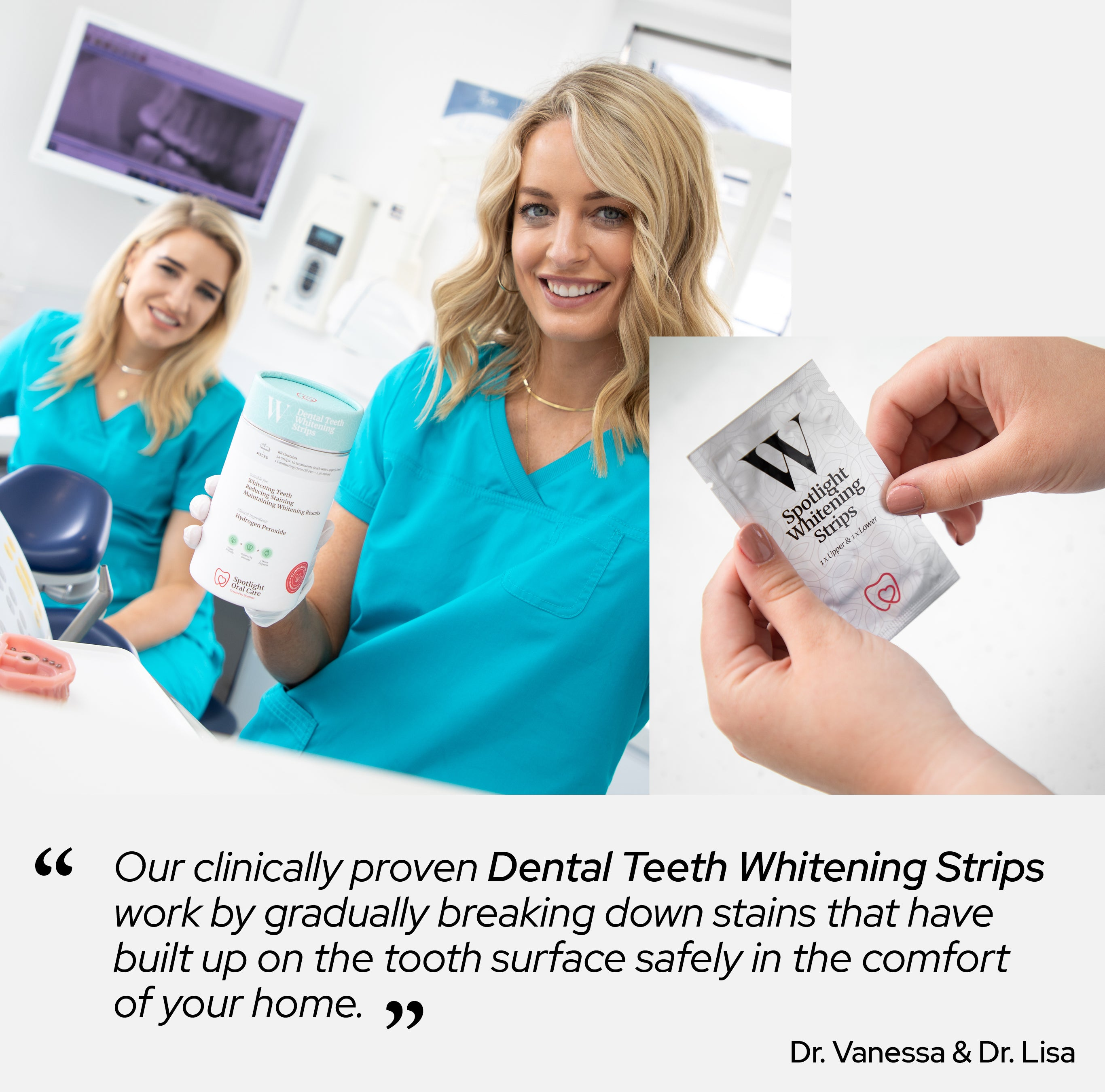 Teeth Whitening Strips Spotlight Oral Care Usa Canada