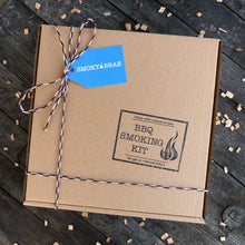 Load image into Gallery viewer, BBQ Smoking Kit Outer Gift Box Packaging Example by Smoky Brae