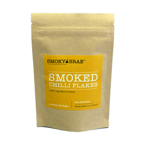 40g Pouch of Smoked Chilli Flakes for seasoning by Smoky Brae