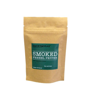 30g Pouch of Smoked Fennel Pepper for Seasoning by Smoky Brae