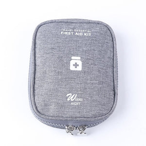 grey First Aid Travel Case