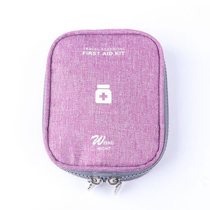 purple First Aid Travel Case