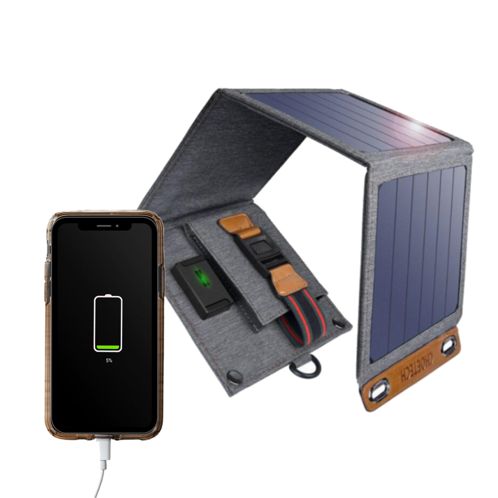 Solar Powered USB Charger