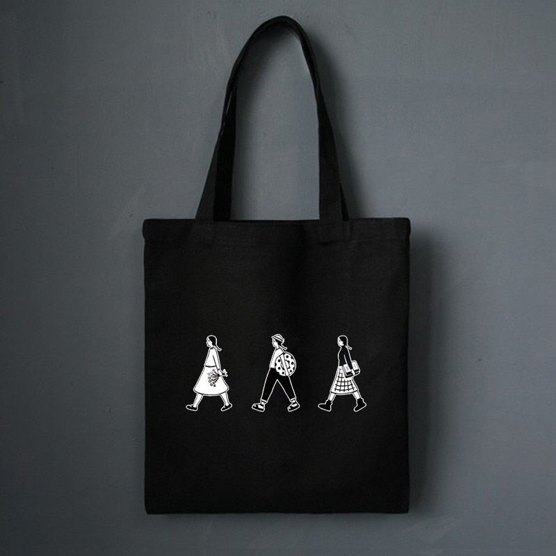 Canvas Tote Bag Black