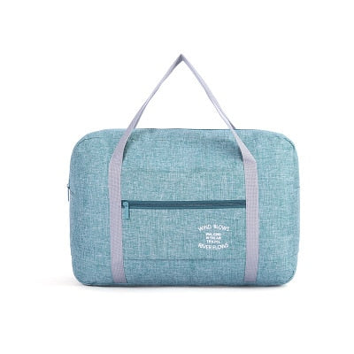 Green Duffle Travel Bag