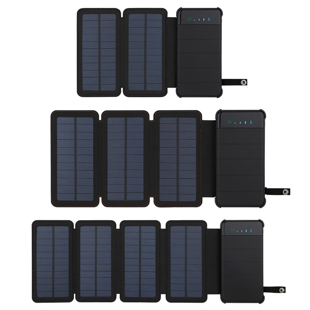Solar Powered Battery Bank Three Sizes