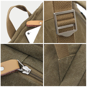 Classic Canvas Backpack Added Features
