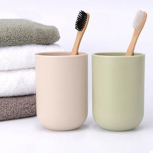 Soft Bamboo Toothbrush in Pots