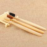 Soft Bamboo Toothbrush Three Colours