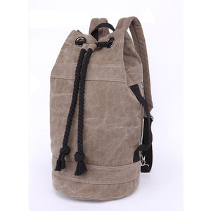 Canvas Drawstring Rucksack
