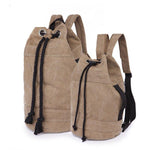 Canvas Drawstring Rucksack large & medium