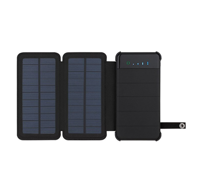 Solar Powered Battery Bank 2 Panels