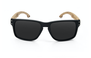 Beech Wood Sunglasses front view