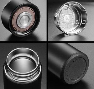 Digital Thermos Bottle different parts