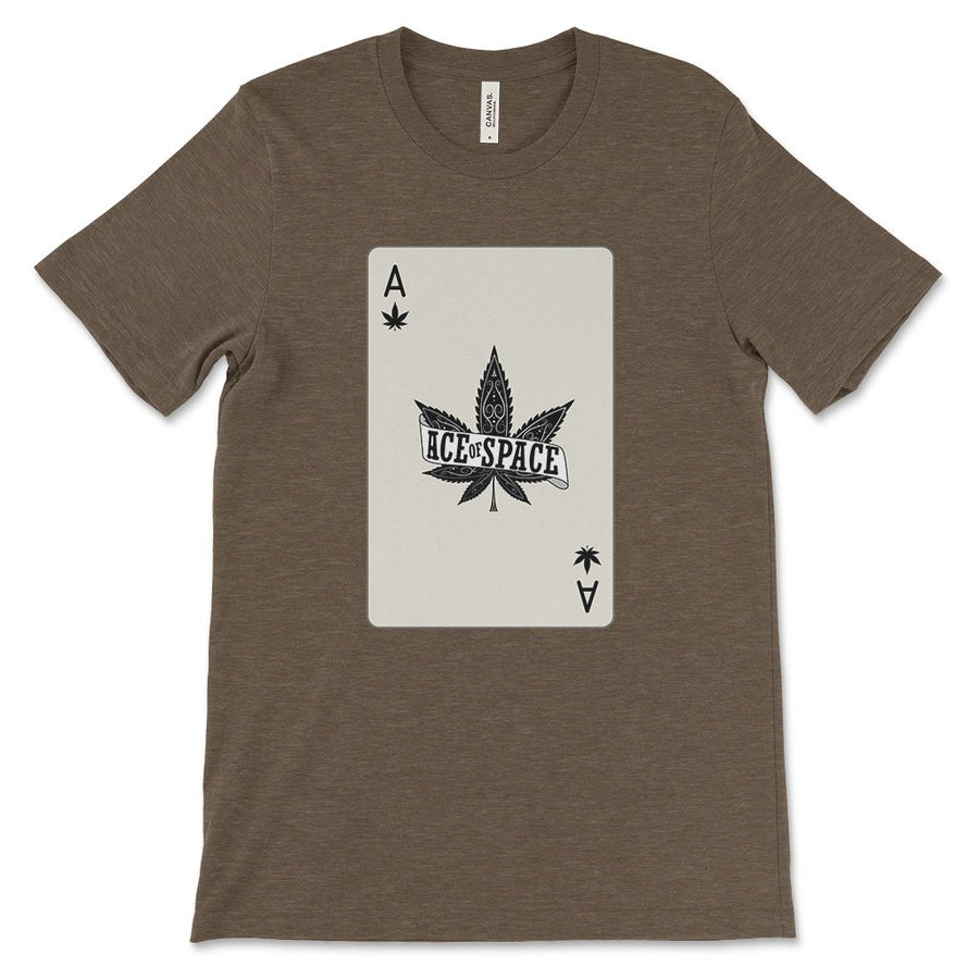 Ace of spades weed shirt