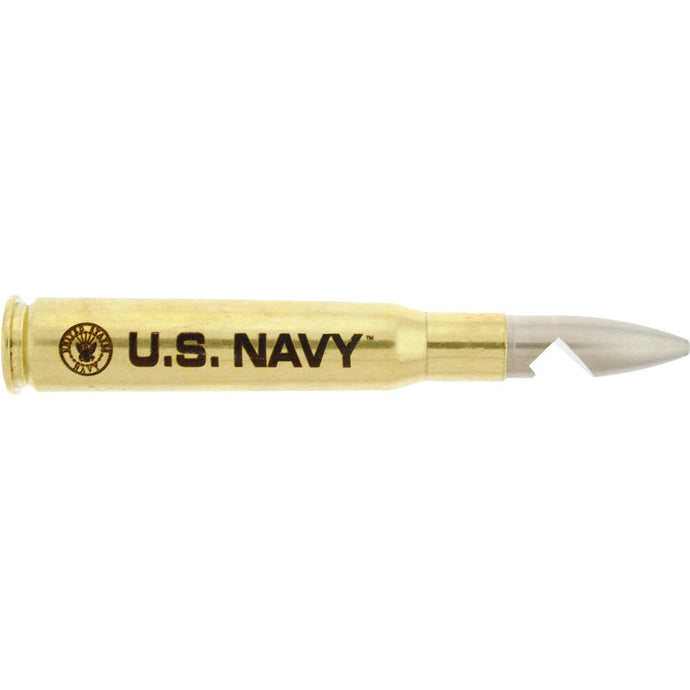 .50 CAL BULLET SHELL BOTTLE OPENER NAVY