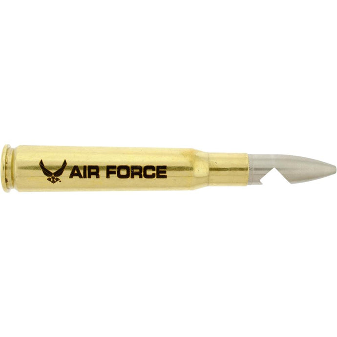 .50 CAL BULLET SHELL BOTTLE OPENER US AIR FORCE