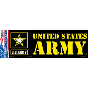 ARMY LOGO, US BUMPER STICKER