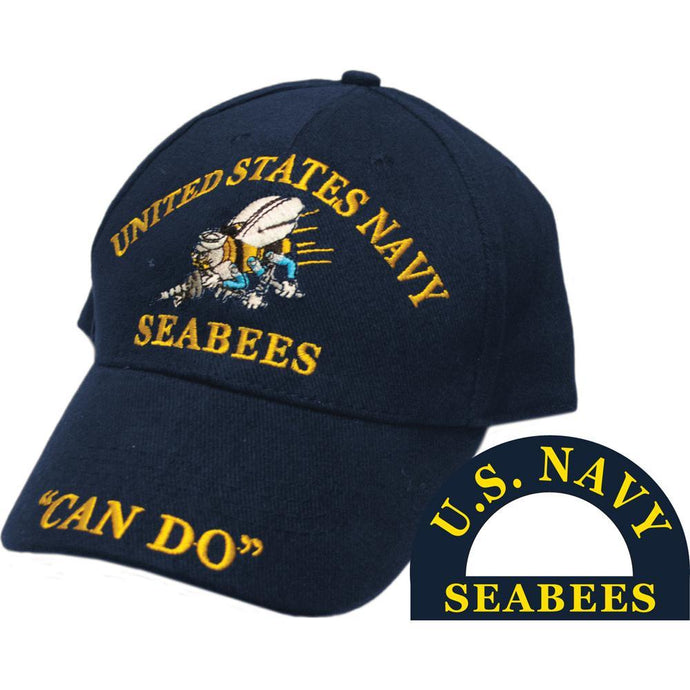 US NAVY, SEABEES HAT