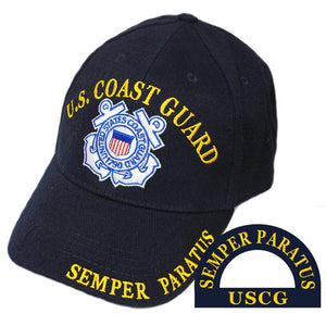 US COAST GUARD SEMPER PARATUS HAT